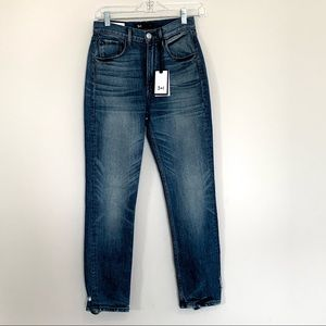 3X1 Denim Jeans Shelter Straight Crop NWT Size 25